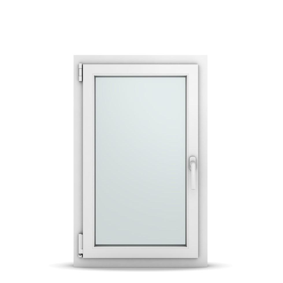 Wohnraumfenster 1-flg. Allegro Max Weiß 600x950 mm DIN Dreh-Kipp Links-36647