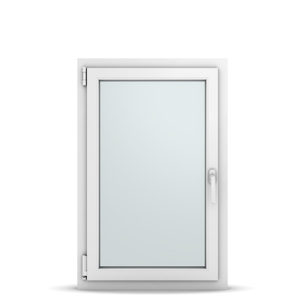 Wohnraumfenster 1-flg. Allegro Max Weiß 650x1000 mm DIN Dreh-Kipp Links-36673