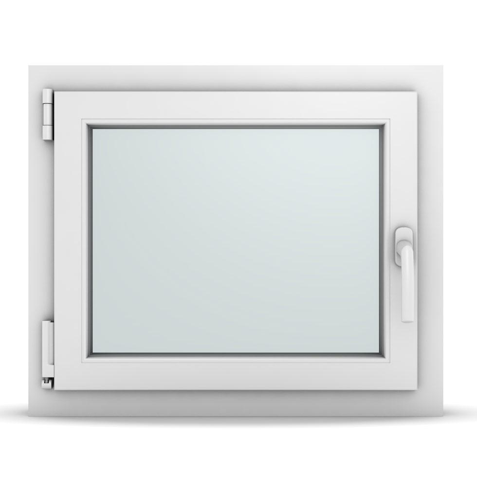 Wohnraumfenster 1-flg. Allegro Max Weiß 650x550 mm DIN Dreh-Kipp Links-36664
