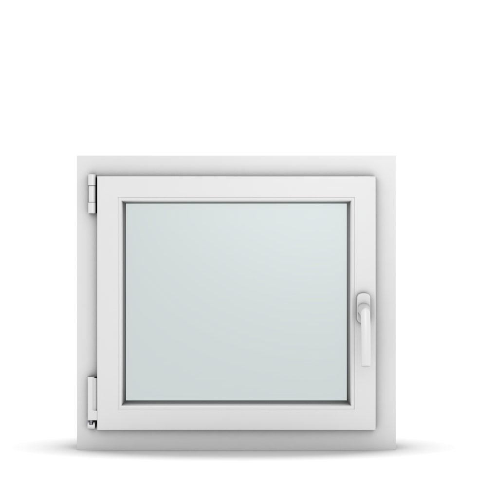 Wohnraumfenster 1-flg. Allegro Max Weiß 650x600 mm DIN Dreh-Kipp Links-36665