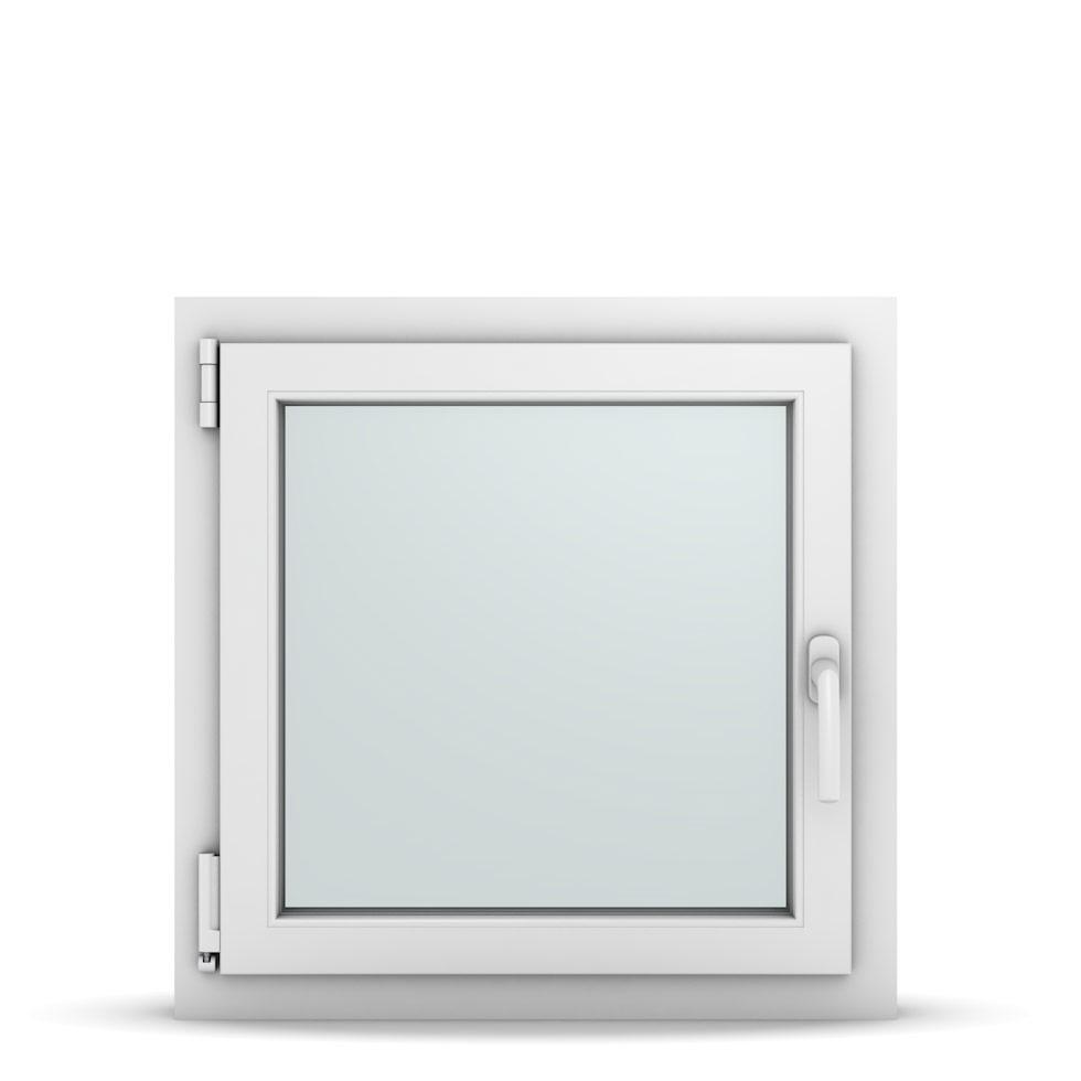 Wohnraumfenster 1-flg. Allegro Max Weiß 650x650 mm DIN Dreh-Kipp Links-36666