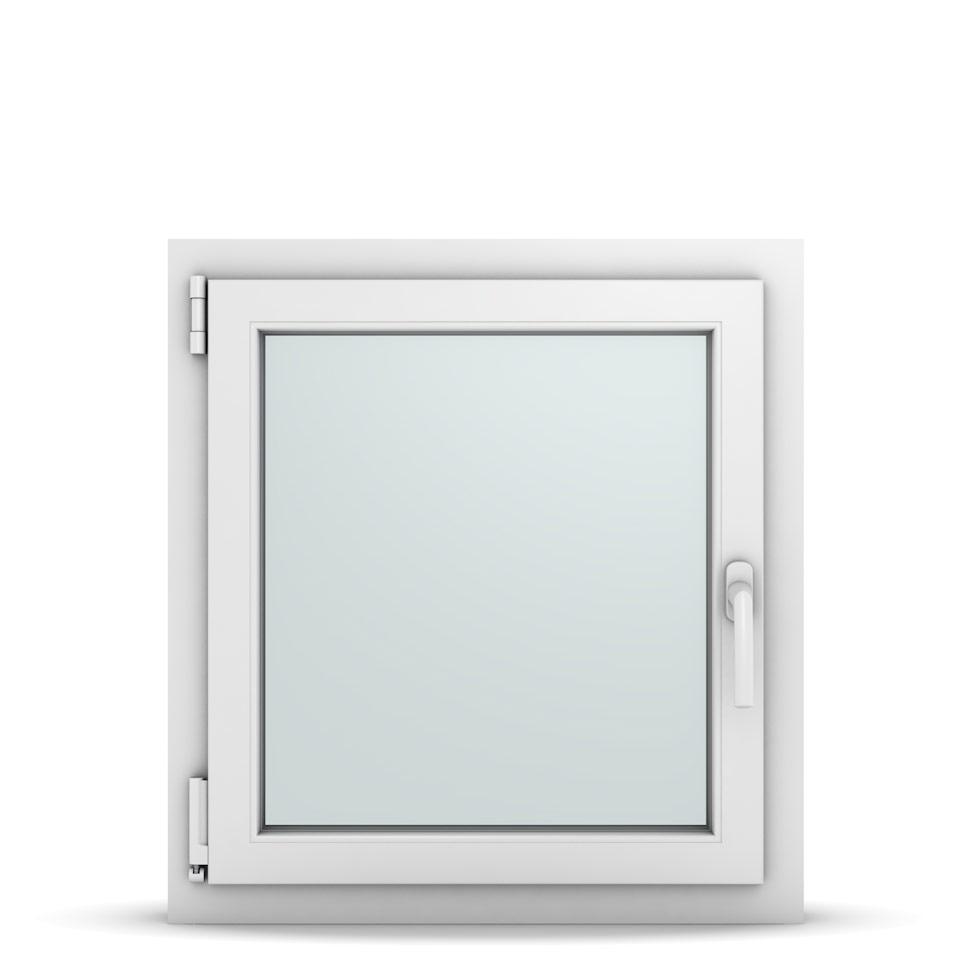 Wohnraumfenster 1-flg. Allegro Max Weiß 650x700 mm DIN Dreh-Kipp Links-36667