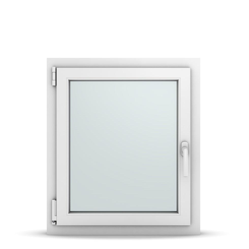 Wohnraumfenster 1-flg. Allegro Max Weiß 650x750 mm DIN Dreh-Kipp Links-36668