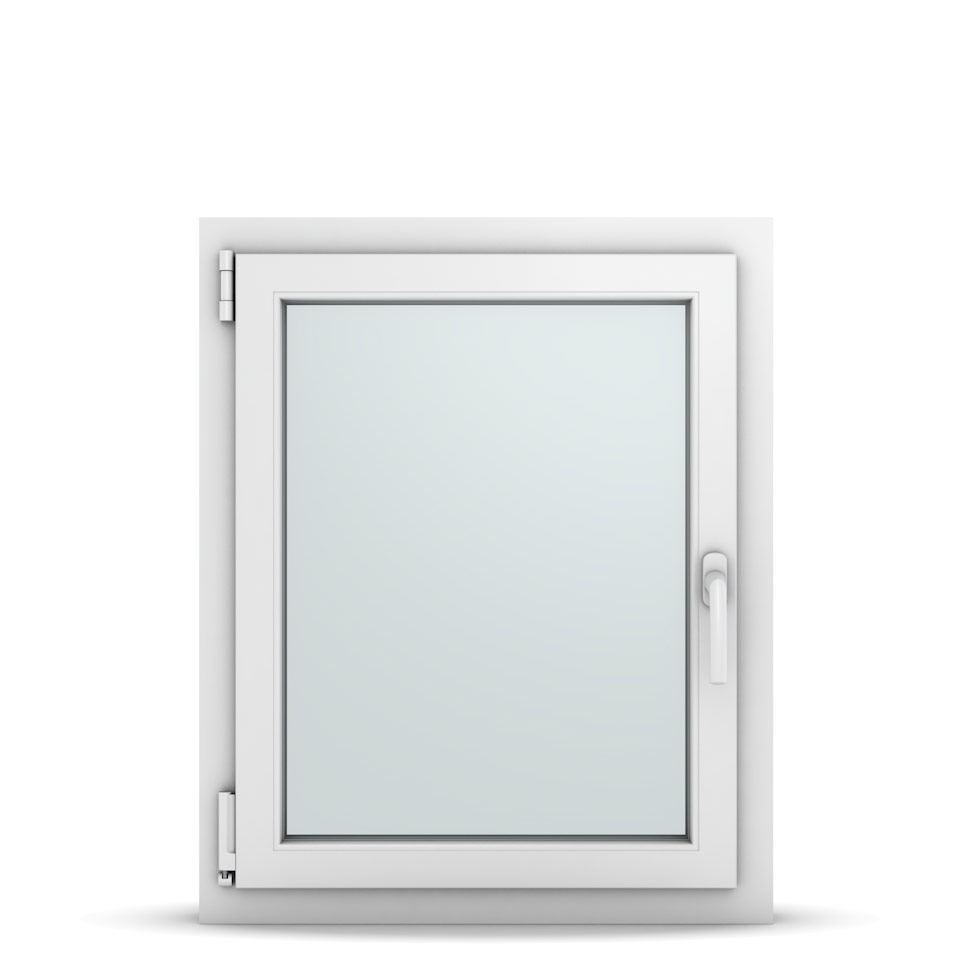Wohnraumfenster 1-flg. Allegro Max Weiß 650x800 mm DIN Dreh-Kipp Links-36669