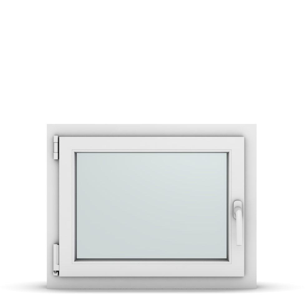 Wohnraumfenster 1-flg. Allegro Max Weiß 700x550 mm DIN Dreh-Kipp Links-36689