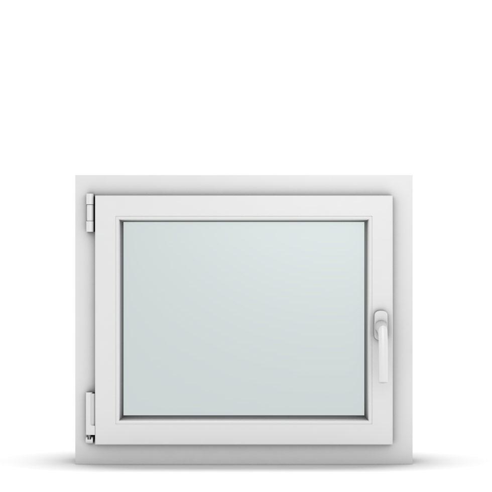 Wohnraumfenster 1-flg. Allegro Max Weiß 700x600 mm DIN Dreh-Kipp Links-36690
