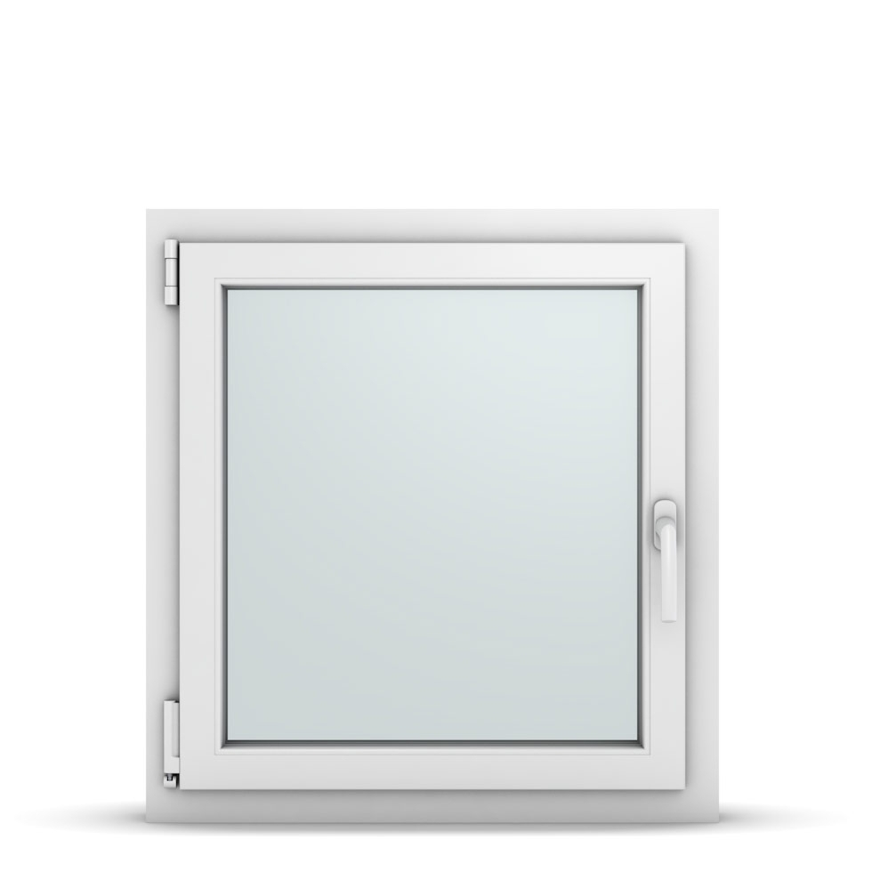 Wohnraumfenster 1-flg. Allegro Max Weiß 700x750 mm DIN Dreh-Kipp Links-36693