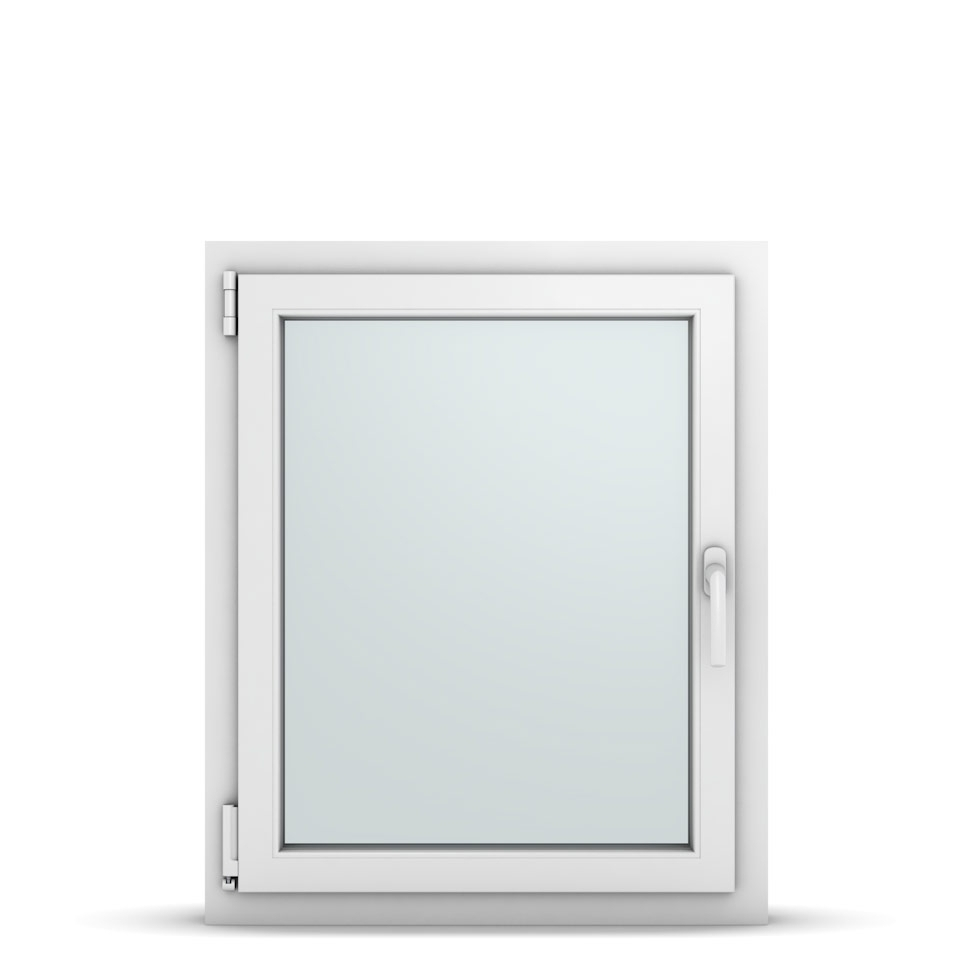 Wohnraumfenster 1-flg. Allegro Max Weiß 700x850 mm DIN Dreh-Kipp Links-36695