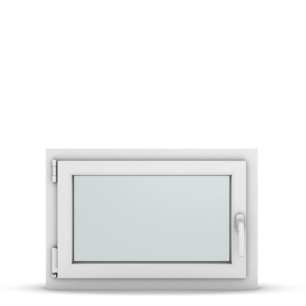 Wohnraumfenster 1-flg. Allegro Max Weiß 750x500 mm DIN Dreh-Kipp Links-36713