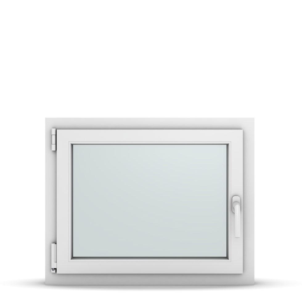 Wohnraumfenster 1-flg. Allegro Max Weiß 750x600 mm DIN Dreh-Kipp Links-36715