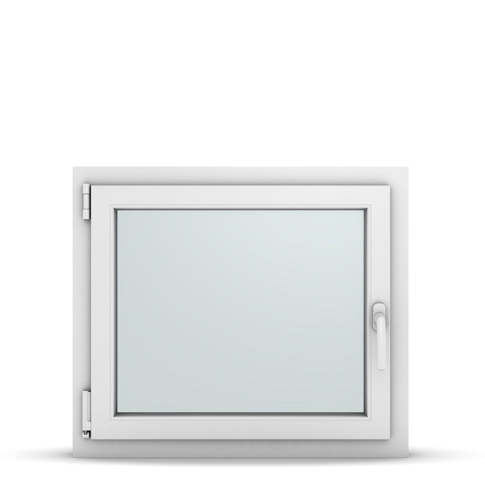 Wohnraumfenster 1-flg. Allegro Max Weiß 750x650 mm DIN Dreh-Kipp Links-36716