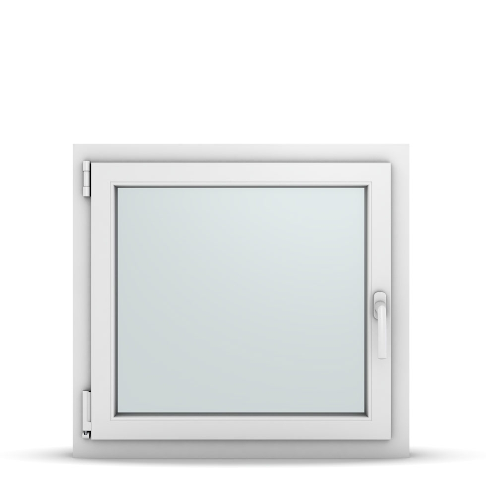 Wohnraumfenster 1-flg. Allegro Max Weiß 750x700 mm DIN Dreh-Kipp Links-36717