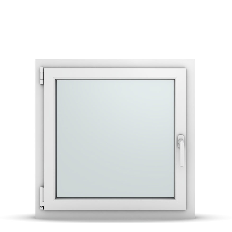 Wohnraumfenster 1-flg. Allegro Max Weiß 750x750 mm DIN Dreh-Kipp Links-36718