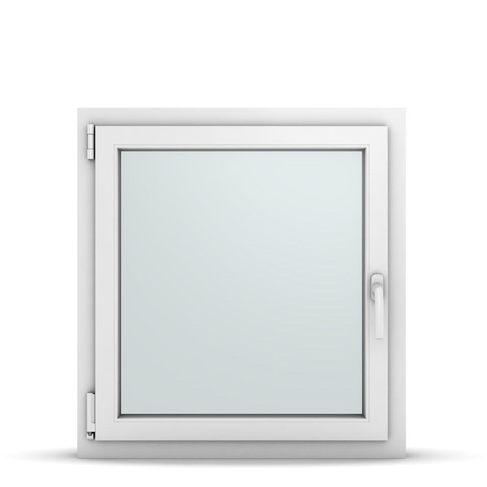 Wohnraumfenster 1-flg. Allegro Max Weiß 750x800 mm DIN Dreh-Kipp Links-36719