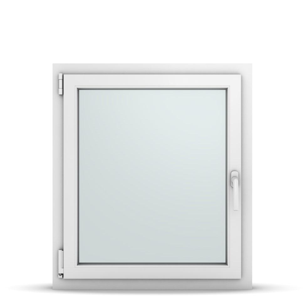Wohnraumfenster 1-flg. Allegro Max Weiß 750x850 mm DIN Dreh-Kipp Links-36720
