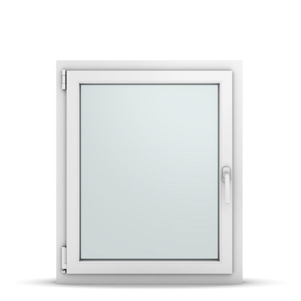 Wohnraumfenster 1-flg. Allegro Max Weiß 750x900 mm DIN Dreh-Kipp Links-36721