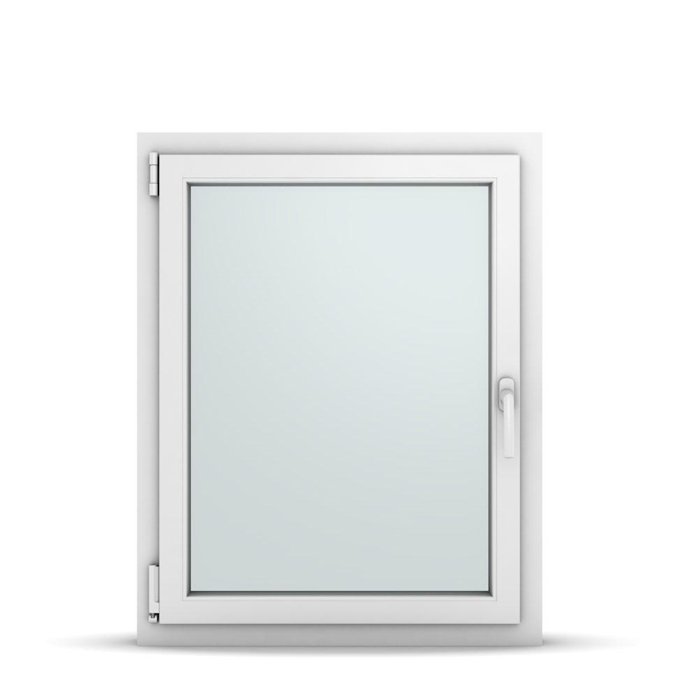Wohnraumfenster 1-flg. Allegro Max Weiß 750x950 mm DIN Dreh-Kipp Links-36722