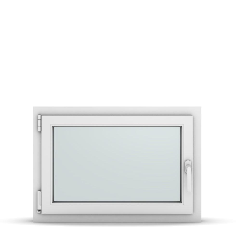 Wohnraumfenster 1-flg. Allegro Max Weiß 800x550 mm DIN Dreh-Kipp Links-36739