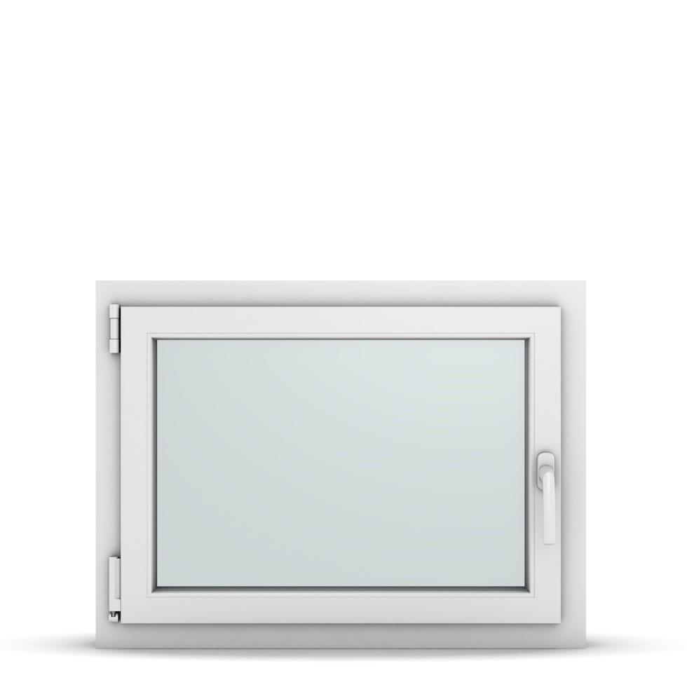 Wohnraumfenster 1-flg. Allegro Max Weiß 800x600 mm DIN Dreh-Kipp Links-36740