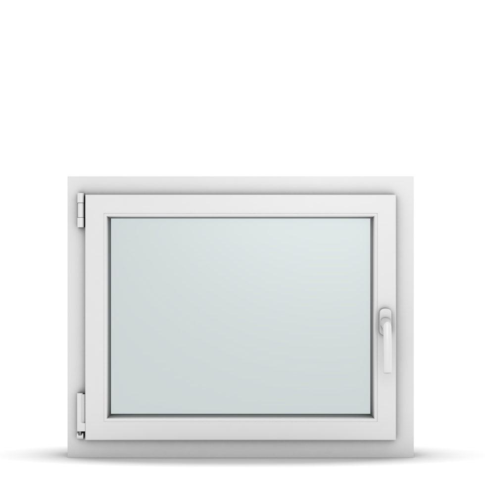 Wohnraumfenster 1-flg. Allegro Max Weiß 800x650 mm DIN Dreh-Kipp Links-36741