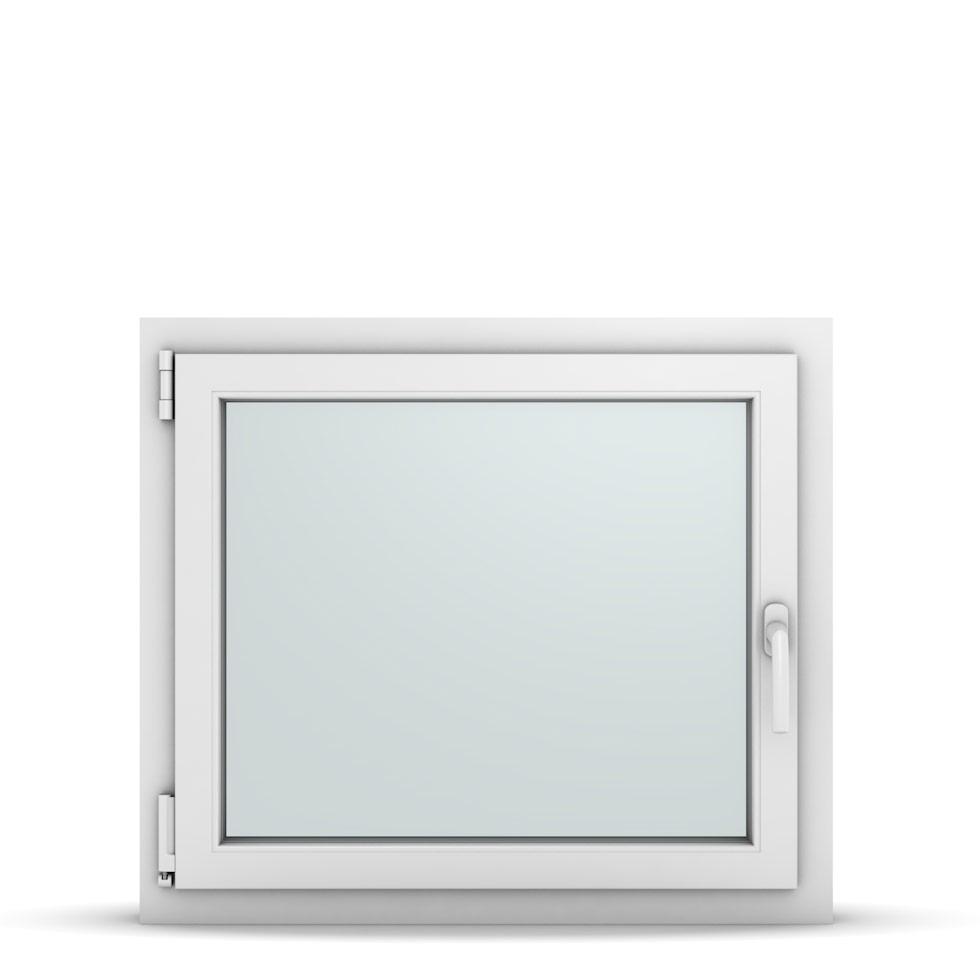 Wohnraumfenster 1-flg. Allegro Max Weiß 800x700 mm DIN Dreh-Kipp Links-36742