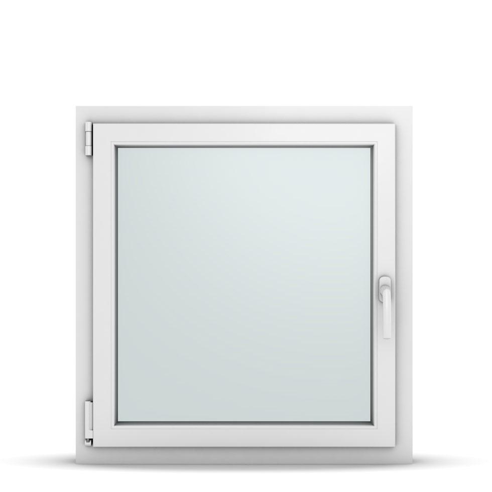 Wohnraumfenster 1-flg. Allegro Max Weiß 800x850 mm DIN Dreh-Kipp Links-36745
