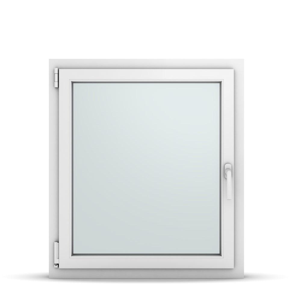 Wohnraumfenster 1-flg. Allegro Max Weiß 800x900 mm DIN Dreh-Kipp Links-36746