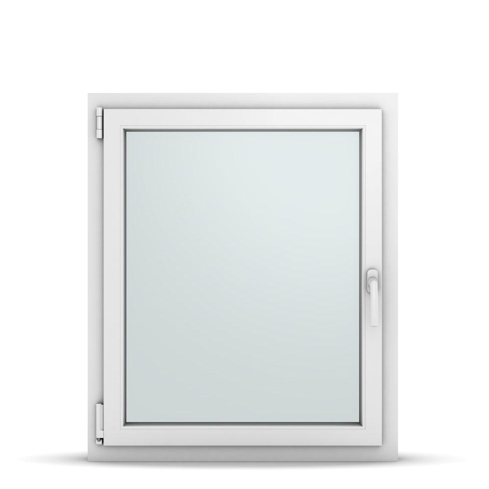 Wohnraumfenster 1-flg. Allegro Max Weiß 800x950 mm DIN Dreh-Kipp Links-36747