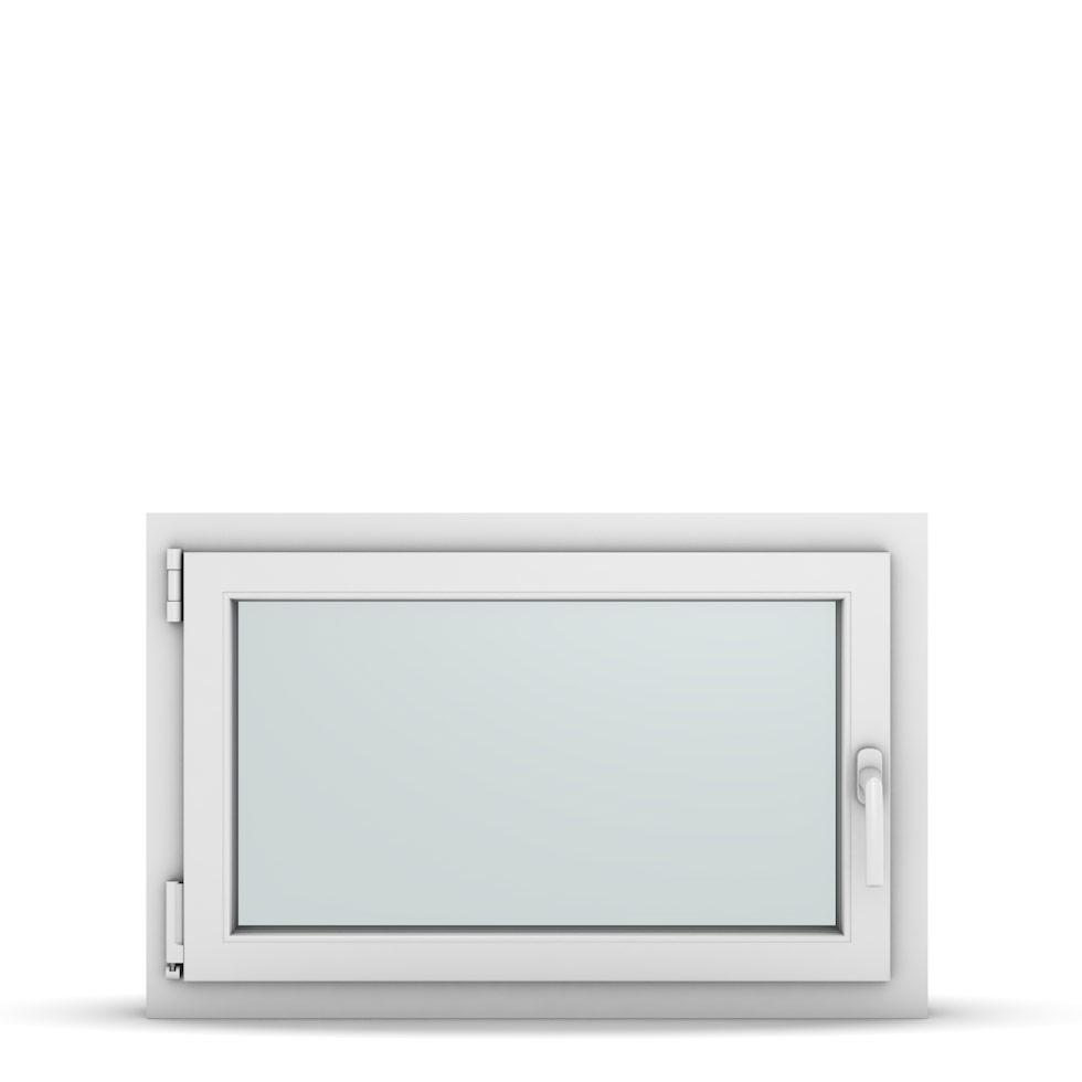Wohnraumfenster 1-flg. Allegro Max Weiß 850x550 mm DIN Dreh-Kipp Links-36764