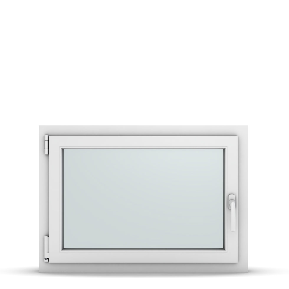 Wohnraumfenster 1-flg. Allegro Max Weiß 850x600 mm DIN Dreh-Kipp Links-36765