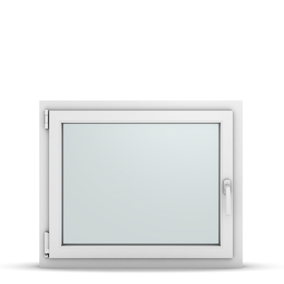 Wohnraumfenster 1-flg. Allegro Max Weiß 850x700 mm DIN Dreh-Kipp Links-36767