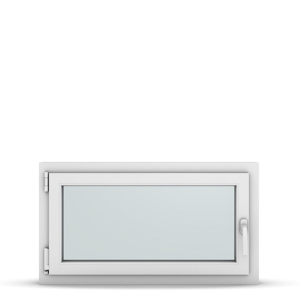 Wohnraumfenster 1-flg. Allegro Max Weiß 900x500 mm DIN Dreh-Kipp Links-36788