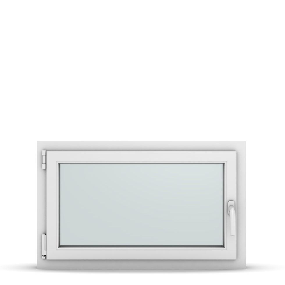 Wohnraumfenster 1-flg. Allegro Max Weiß 900x550 mm DIN Dreh-Kipp Links-36789