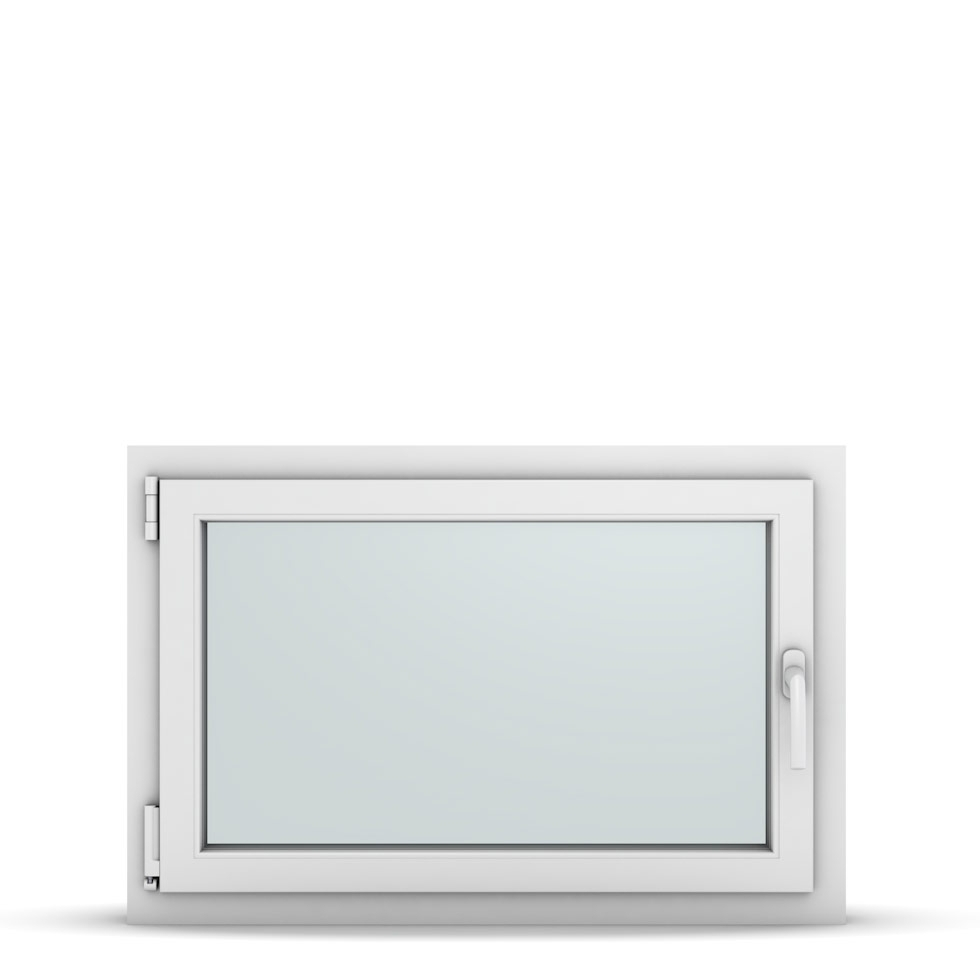 Wohnraumfenster 1-flg. Allegro Max Weiß 900x600 mm DIN Dreh-Kipp Links-36790