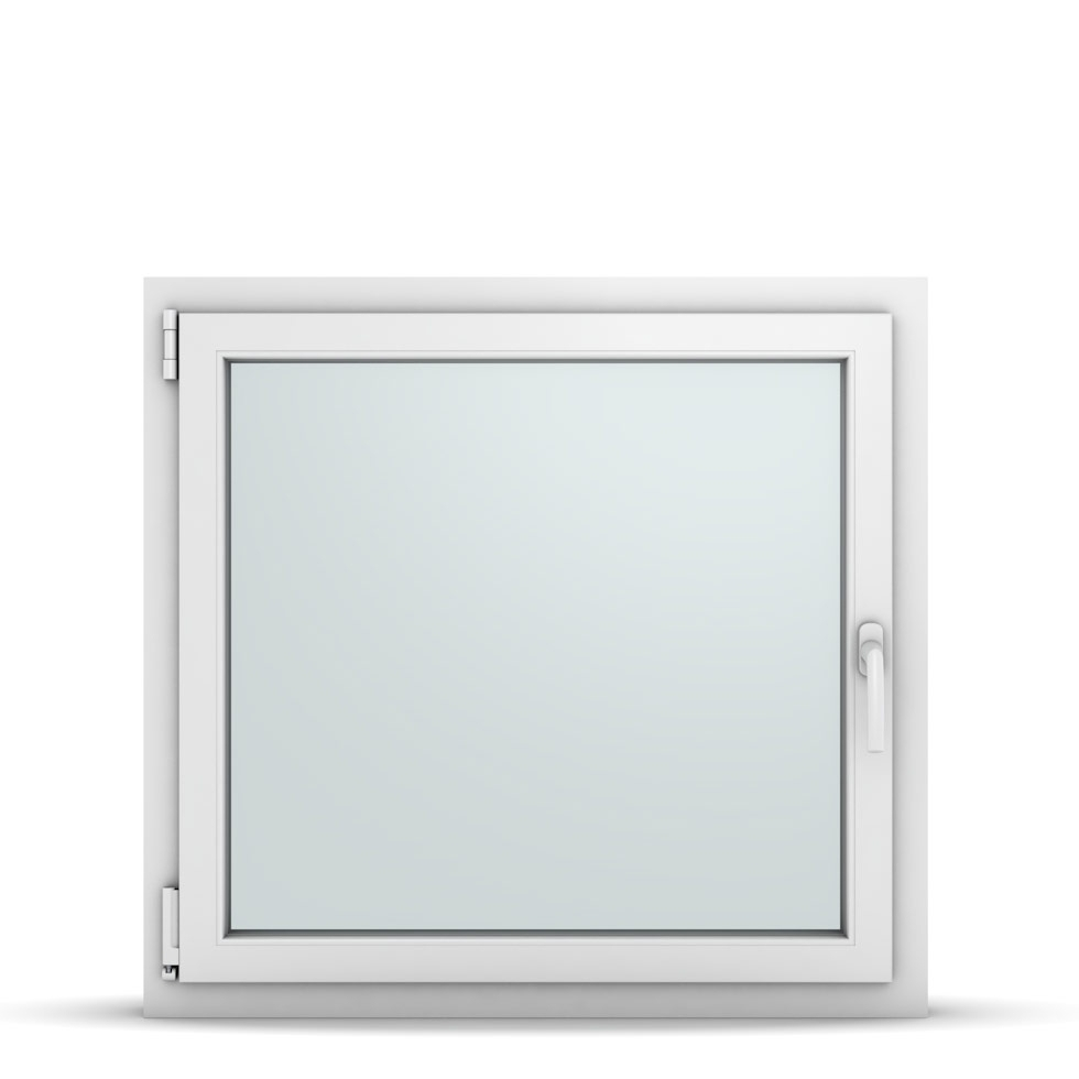 Wohnraumfenster 1-flg. Allegro Max Weiß 900x850 mm DIN Dreh-Kipp Links-36795
