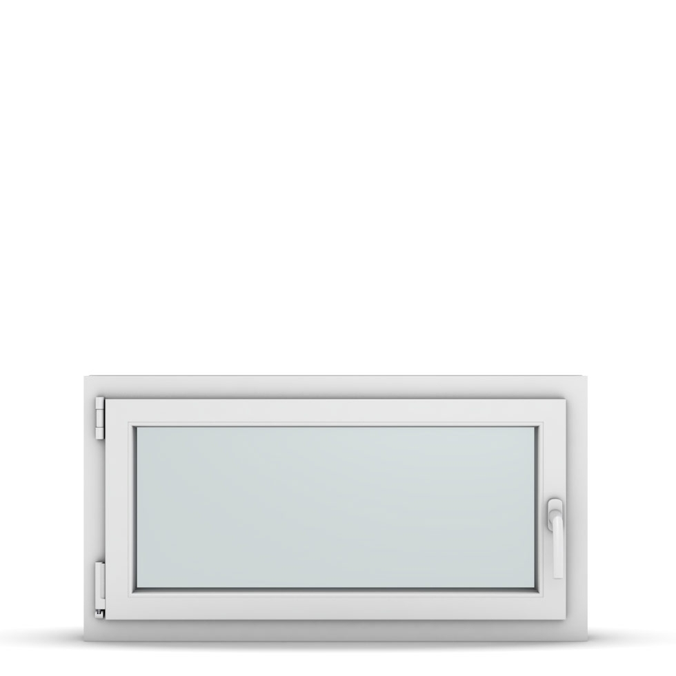 Wohnraumfenster 1-flg. Allegro Max Weiß 950x500 mm DIN Dreh-Kipp Links-36813