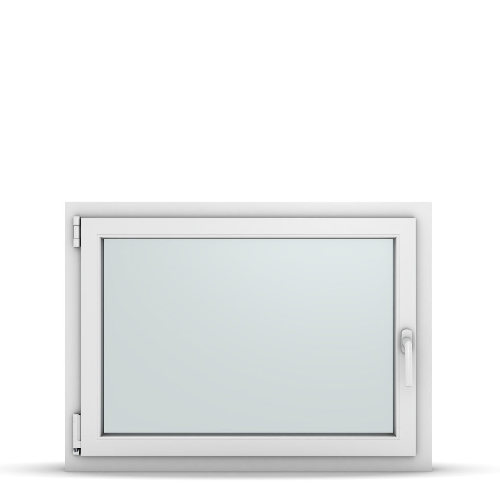 Wohnraumfenster 1-flg. Allegro Max Weiß 950x700 mm DIN Dreh-Kipp Links-36817