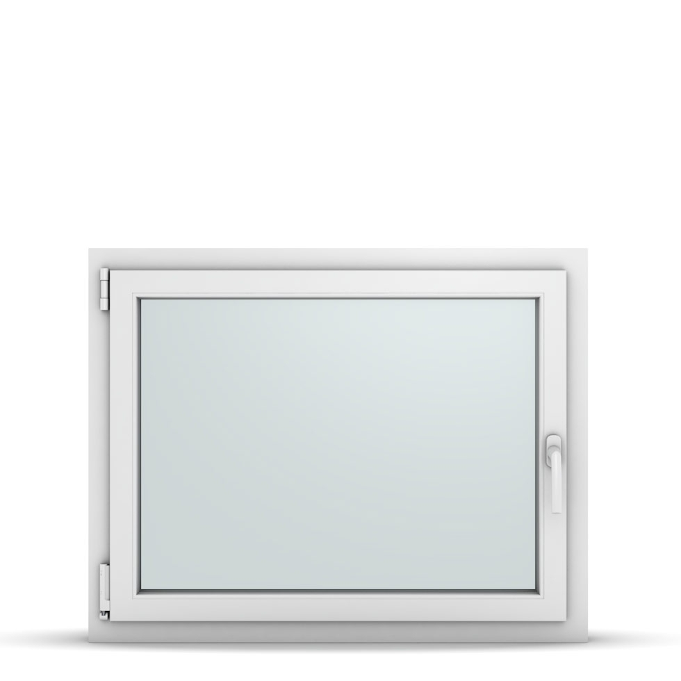Wohnraumfenster 1-flg. Allegro Max Weiß 950x750 mm DIN Dreh-Kipp Links-36818