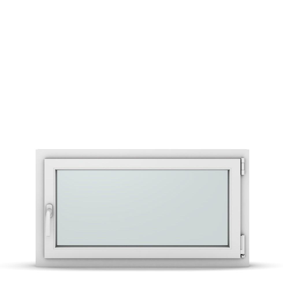 Wohnraumfenster 1-flg. Allegro Max Weiß 1000x500 mm DIN Dreh-Kipp Rechts-37212