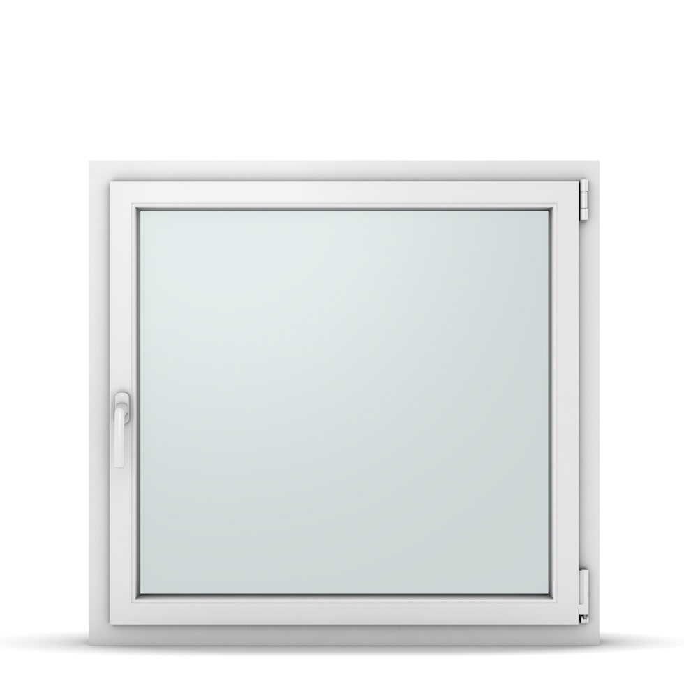 Wohnraumfenster 1-flg. Allegro Max Weiß 1000x950 mm DIN Dreh-Kipp Rechts-37220