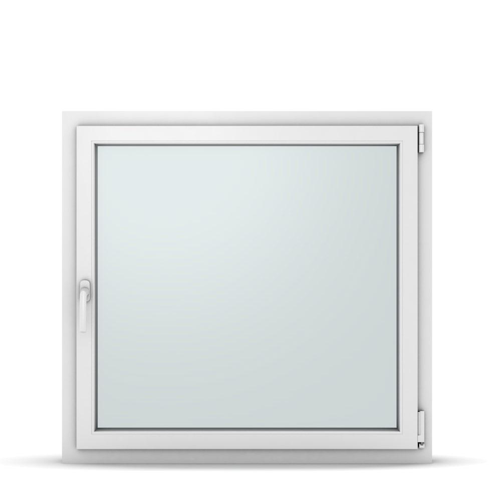 Wohnraumfenster 1-flg. Allegro Max Weiß 1050x1000 mm DIN Dreh-Kipp Rechts-37246