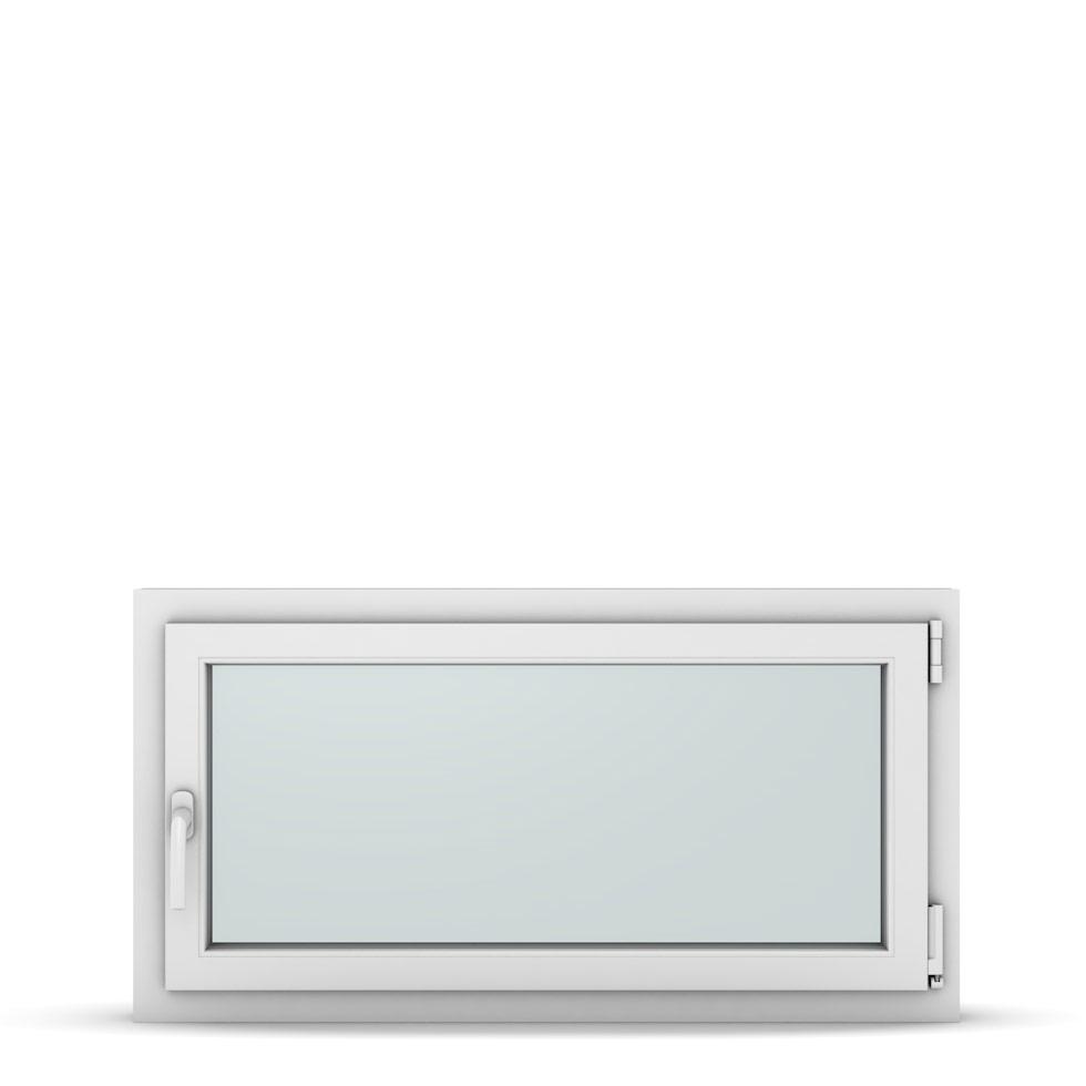 Wohnraumfenster 1-flg. Allegro Max Weiß 1050x550 mm DIN Dreh-Kipp Rechts-37237