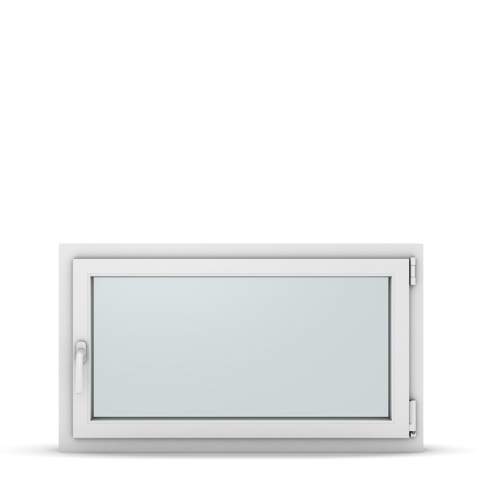 Wohnraumfenster 1-flg. Allegro Max Weiß 1050x600 mm DIN Dreh-Kipp Rechts-37238