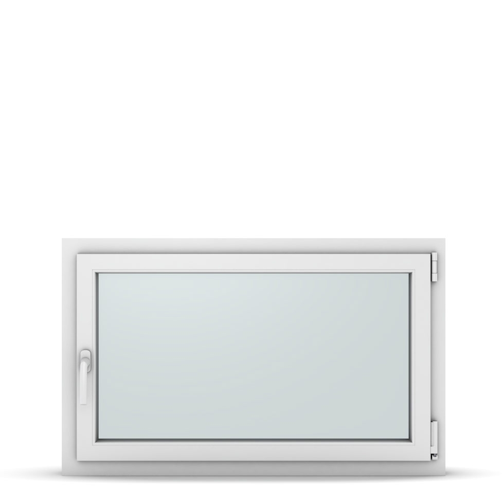 Wohnraumfenster 1-flg. Allegro Max Weiß 1050x650 mm DIN Dreh-Kipp Rechts-37239
