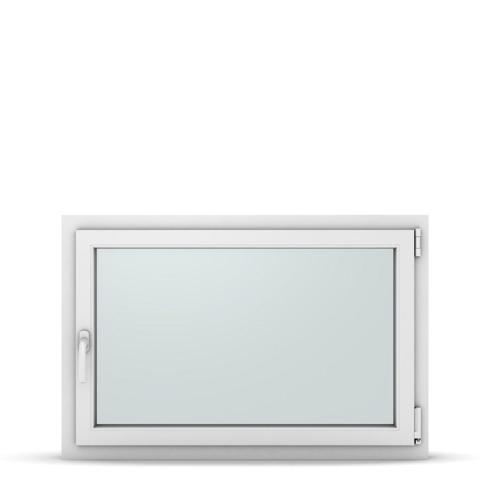 Wohnraumfenster 1-flg. Allegro Max Weiß 1050x700 mm DIN Dreh-Kipp Rechts-37240