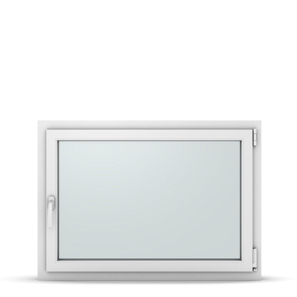 Wohnraumfenster 1-flg. Allegro Max Weiß 1050x750 mm DIN Dreh-Kipp Rechts-37241