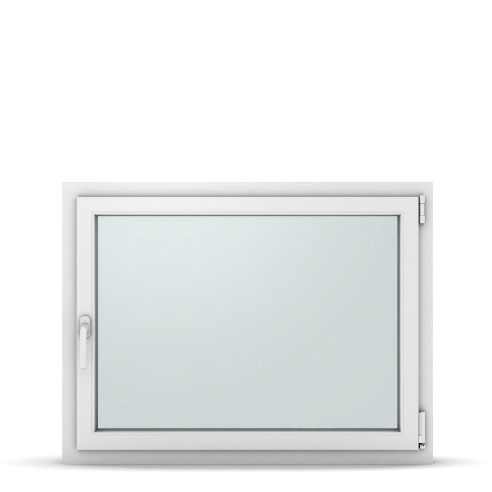 Wohnraumfenster 1-flg. Allegro Max Weiß 1050x800 mm DIN Dreh-Kipp Rechts-37242