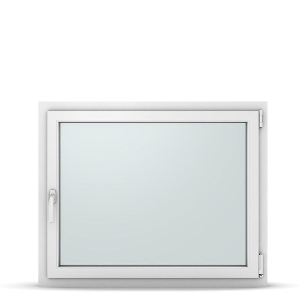 Wohnraumfenster 1-flg. Allegro Max Weiß 1050x850 mm DIN Dreh-Kipp Rechts-37243