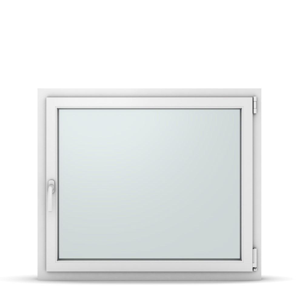 Wohnraumfenster 1-flg. Allegro Max Weiß 1050x900 mm DIN Dreh-Kipp Rechts-37244