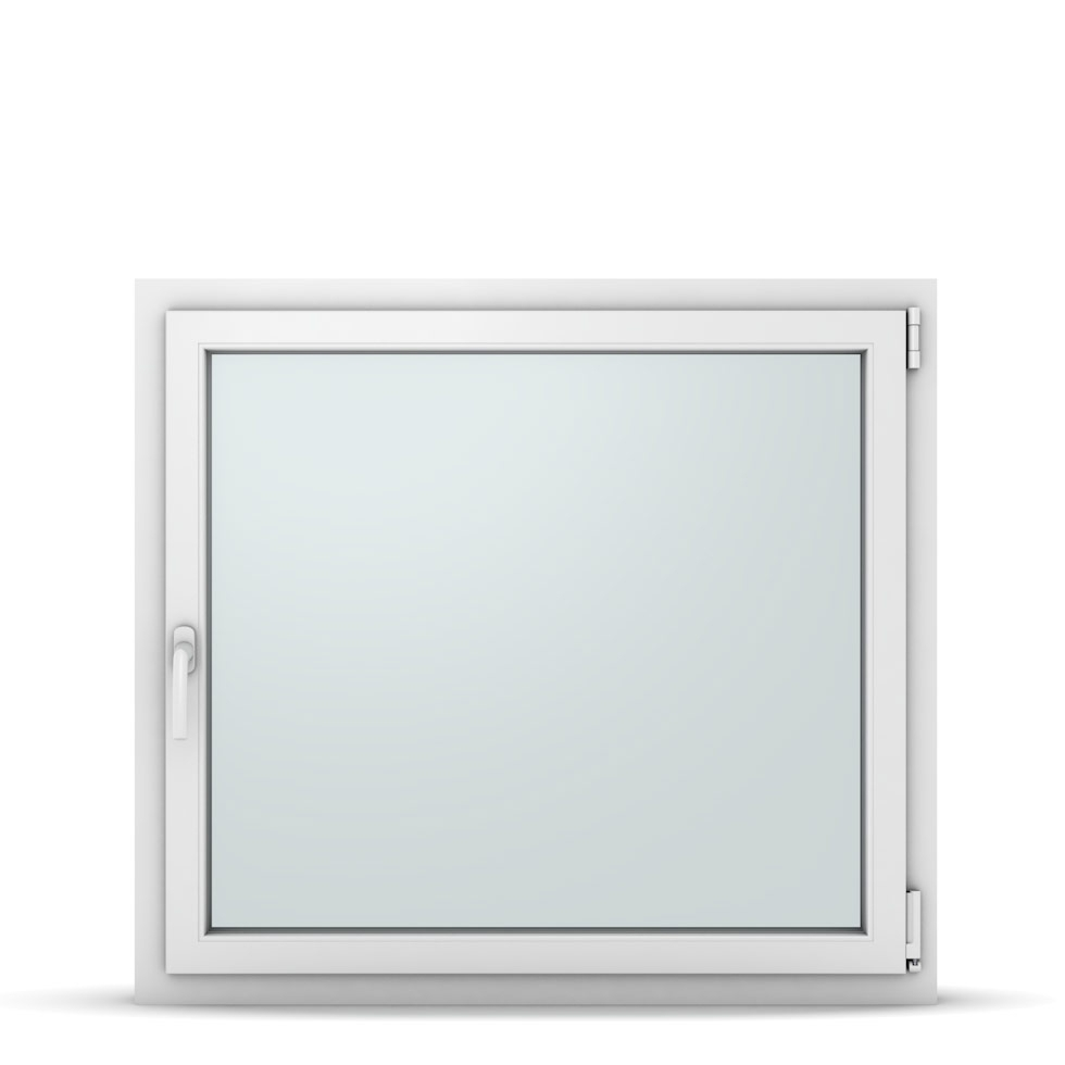 Wohnraumfenster 1-flg. Allegro Max Weiß 1050x950 mm DIN Dreh-Kipp Rechts-37245